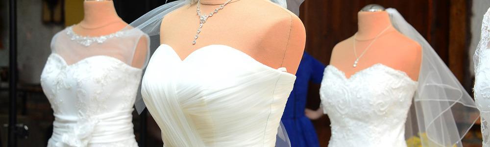 Zweifarbige Brautkleider
